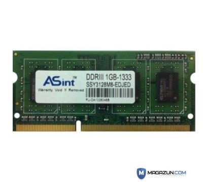 Оперативная память SO-DIMM DDR3 1024Mb 1333 MHz Asint