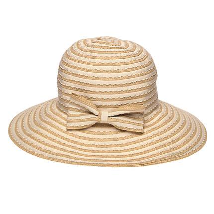 Шляпа женская Marmilen Тесьма-Бант бежевая ( AVKJX-128-02 )    , фото 2