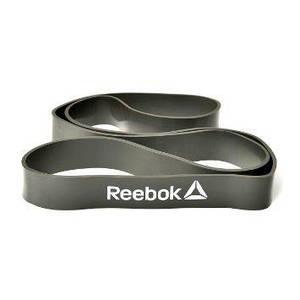Гумовий еспандер для кроссфита Reebok RSTB-10081 сірий, 2 рівень опору