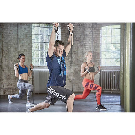 Эспандер Reebok Adjustable Resistance Tube Heavy RSTB-16077, фото 2