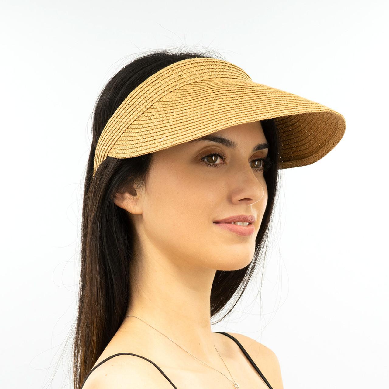 Шляпа женская Marmilen Обруч Без банта темно бежевая( 1001-03 )