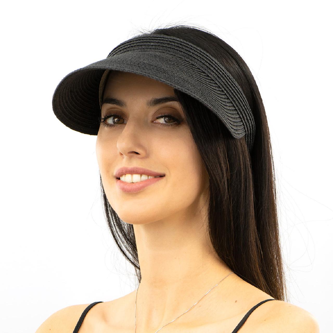 Шляпа женская Marmilen Обруч Без банта черная( 1001-05 )
