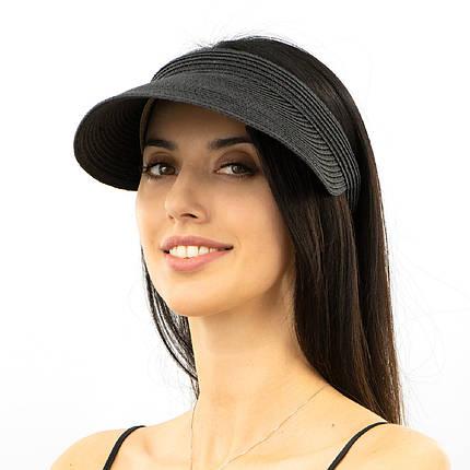 Шляпа женская Marmilen Обруч Без банта черная( 1001-05 )   , фото 2