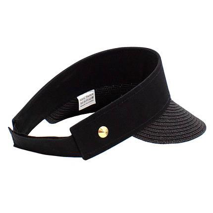 Шляпа женская Marmilen Корнет черная  ( 1002-05 ), фото 2