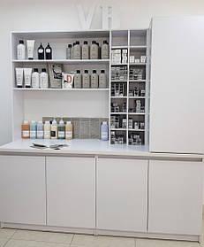 Лаборатория для парикмахерской VM529 ДСП Swisspan Белый (Velmi TM)