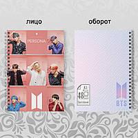 Скетчбук А5 48 л. 150 гр.м² K-Pop BTS Light