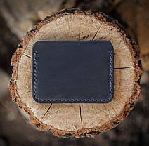 Картхолдер из кожи ручной работы VOILE ch4-blu, фото 3
