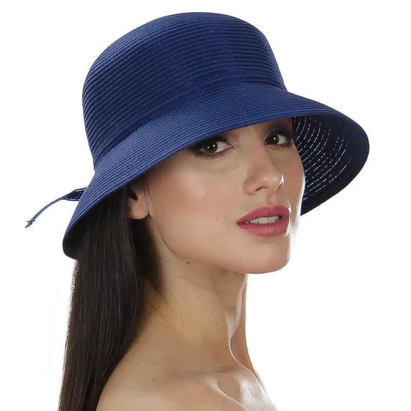 Шляпа женская Marmilen Хилл темно синяя ( DM-041-05 )