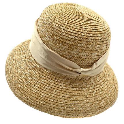 Шляпа женская Marmilen Кристи лента бежевая( DM-079-43 )    , фото 2