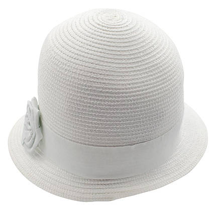 Шляпа женская Marmilen Санта-Роза белая ( DM-104-02 )    , фото 2