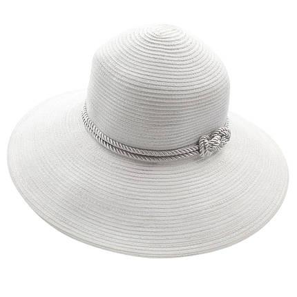 Шляпа женская Marmilen Узелок-Канат белая ( DM-138-02 )    , фото 2