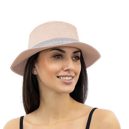 Шляпа женская Marmilen Марта Пудра ( JD8981-04 )    , фото 2
