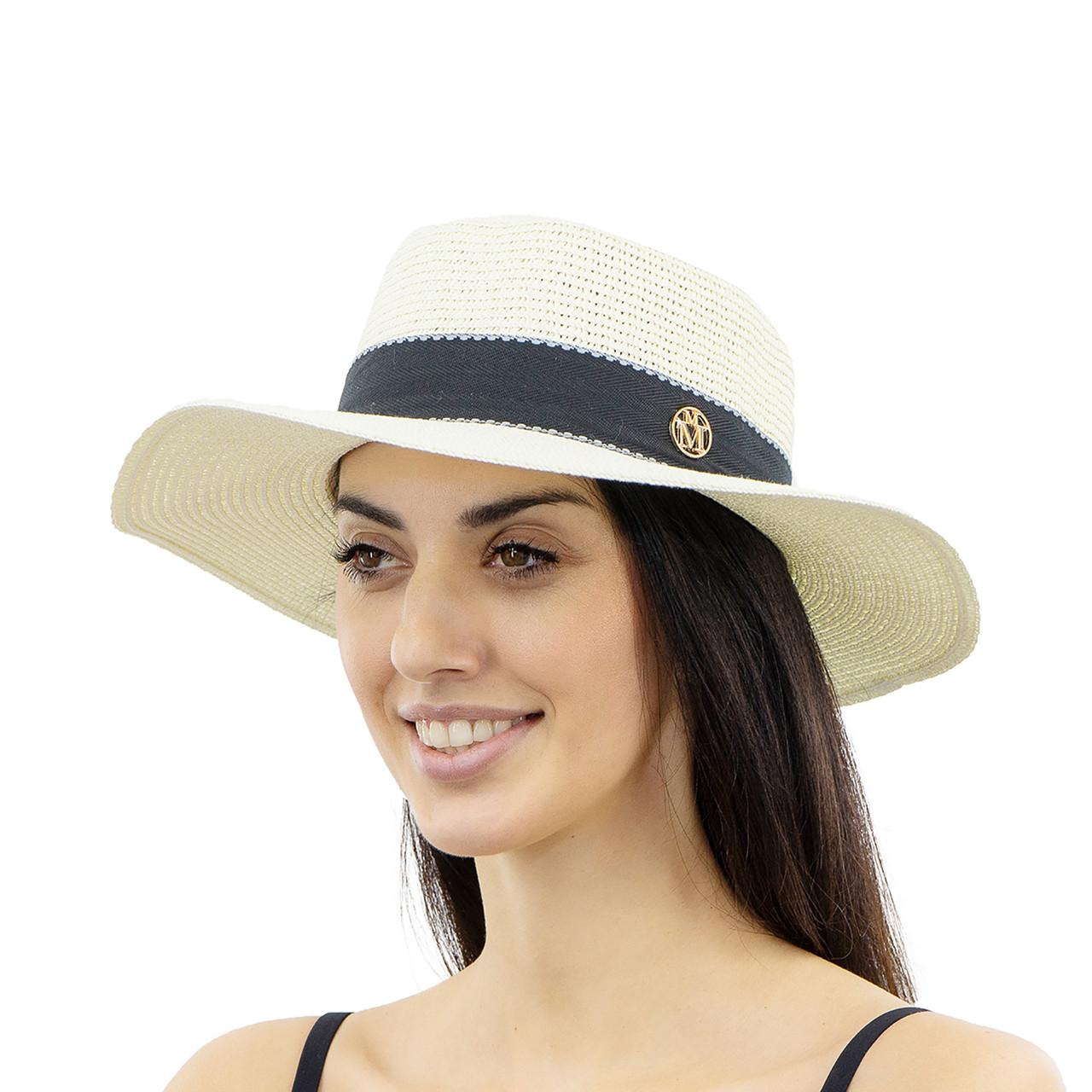 Шляпа женская Marmilen Мила молочная ( YM8208-01 )