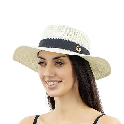 Шляпа женская Marmilen Мила молочная ( YM8208-01 )    , фото 2