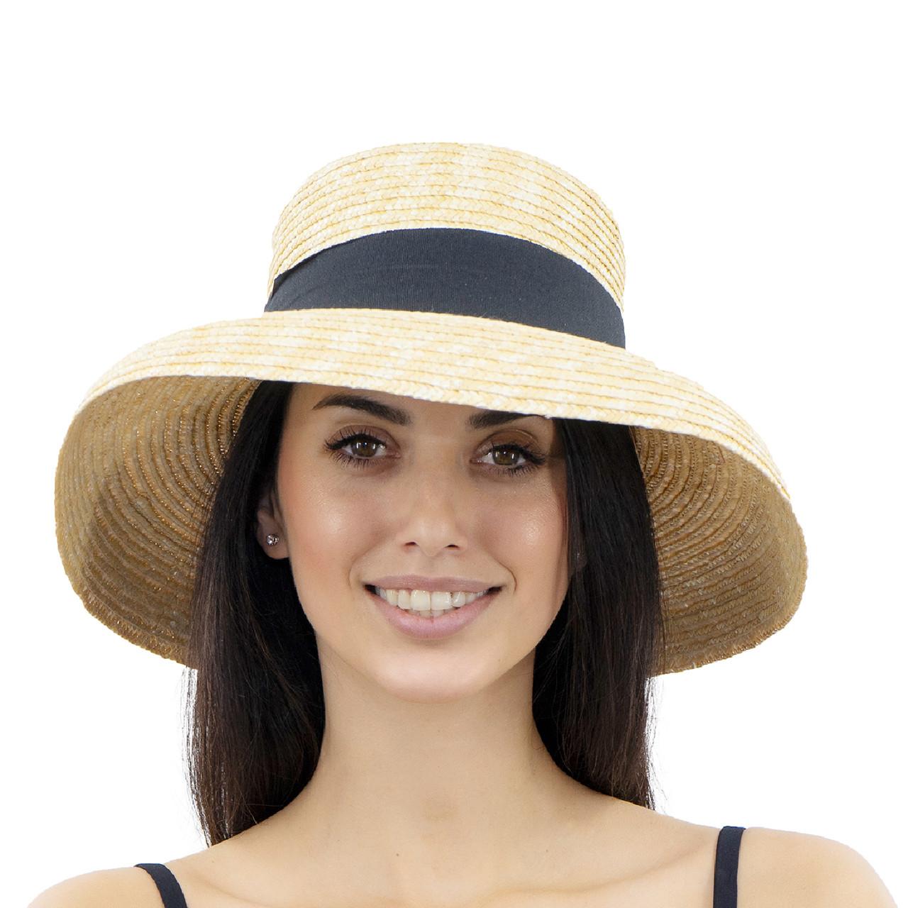 Шляпа женская Marmilen Леди Большое поле ( YM0107-01 )