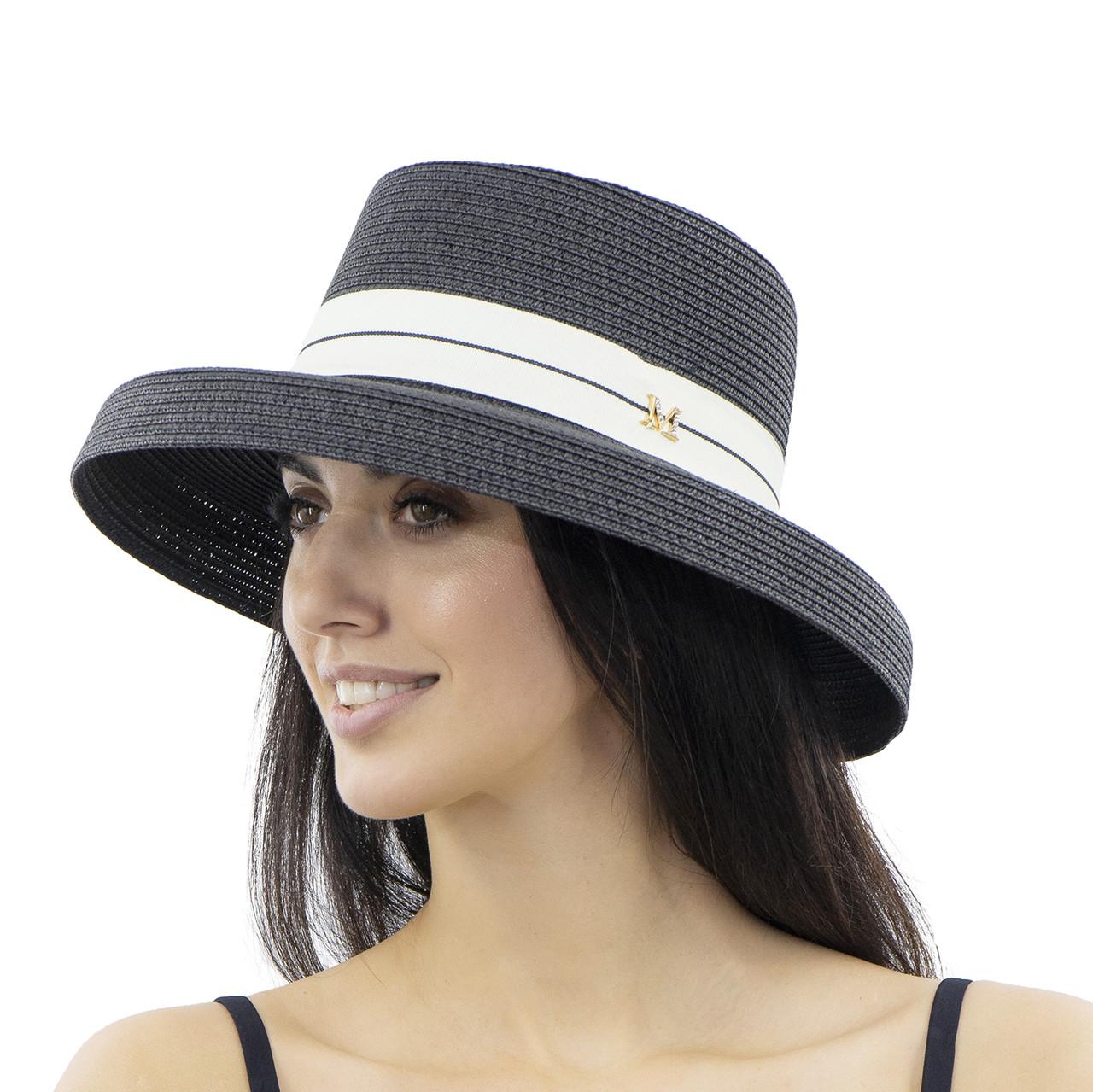Шляпа женская Marmilen Абажур черная ( YM0109-04 )