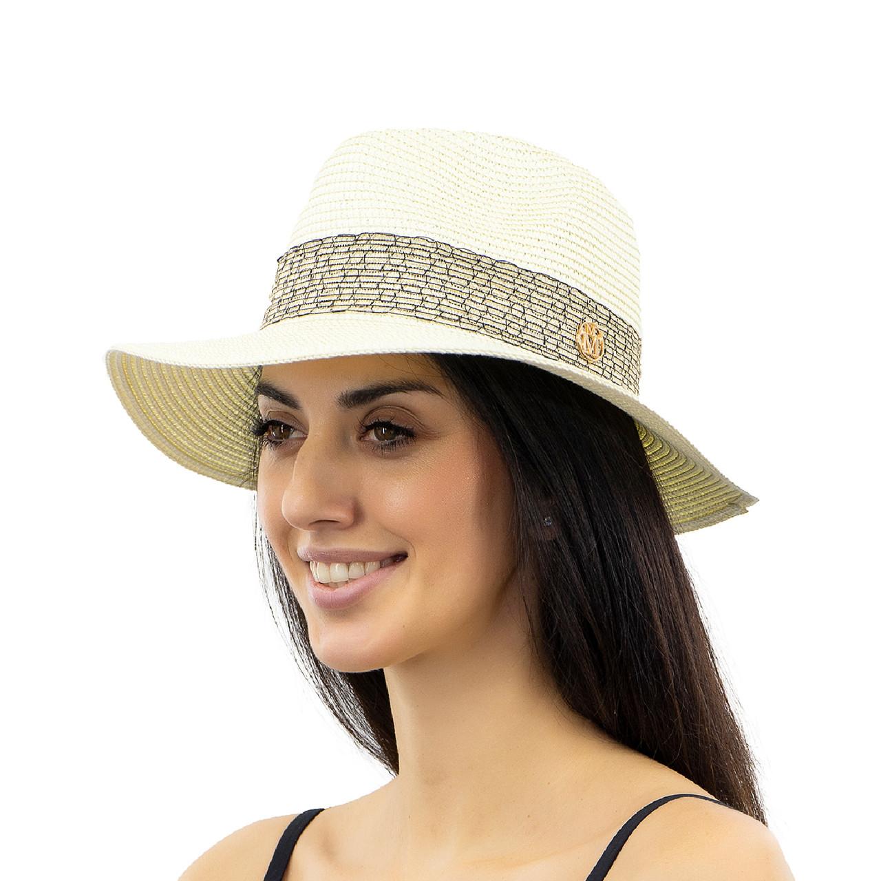 Шляпа женская Marmilen Крис М молочная ( YM8294-07 )