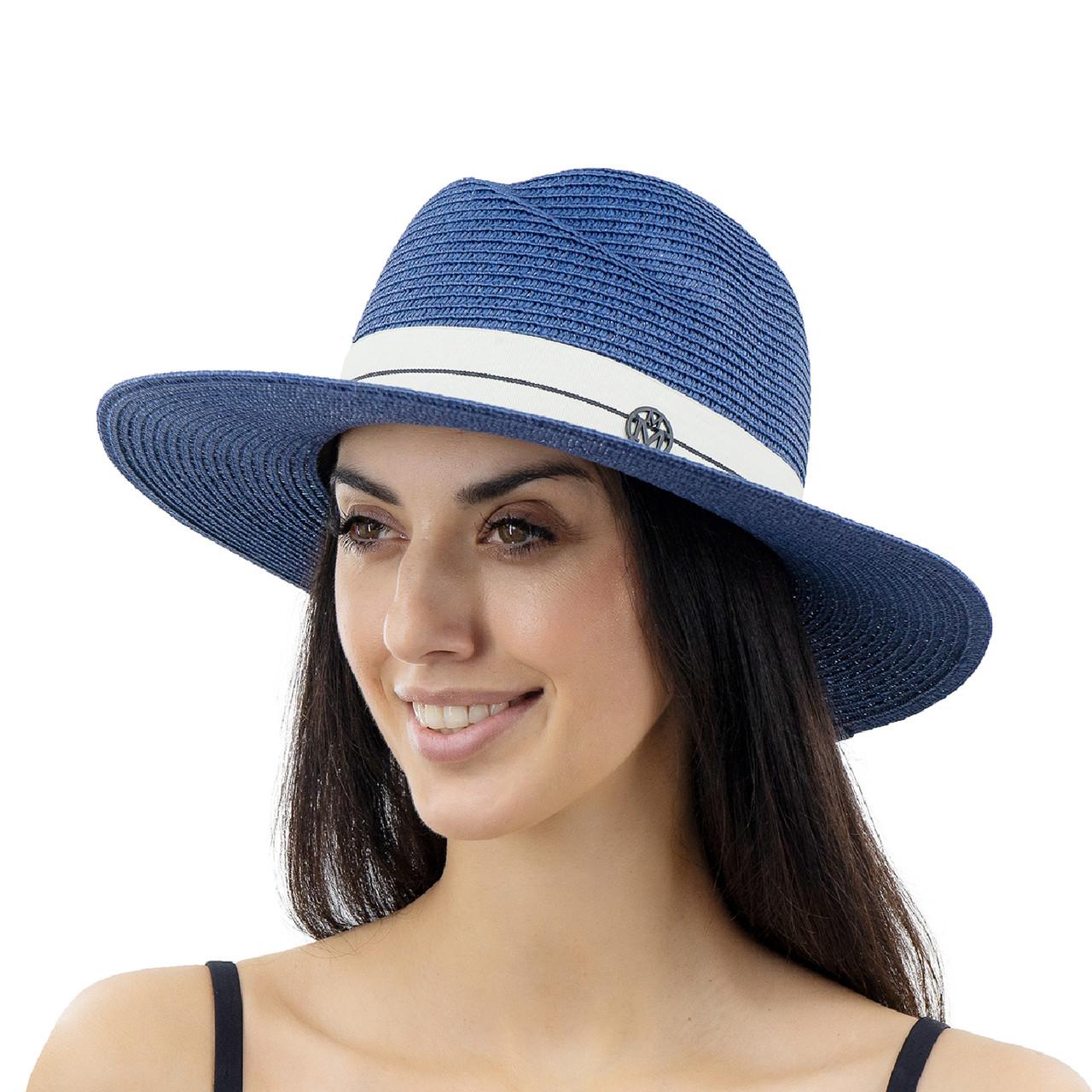 Шляпа женская Marmilen Волна синяя ( YM0112-04 )