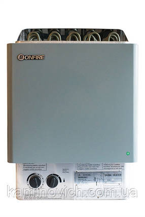 Электрическая печь для сауны Bonfire SCA-80NB, фото 2