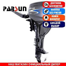 Лодочный мотор Parsun F9.8 BWS. 4-х тактный. 9,8л/с; (Мотор для лодки Парсун 9,8);