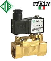 """Электромагнитный клапан для воды 3/8"""", НЗ, NBR, - 10 + 90 °С, ODE 21WA3ROB130 (Италия), нормально закрытый."""