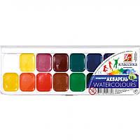 Краски акварель медовые Луч 19с1290-1101, 16 цветов, б/кист.