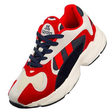 Жіночі кросівки Bayota 41 Red Blue, фото 3
