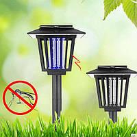 Светильник для уничтожения насекомых, газонный на солнечной батарее с выключателем LM3409 Lemanso