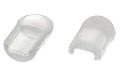 # 57/3 Заглушка  для закрытия среза LED NEON 12V 8*16mm силикон 1019240