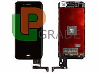 Дисплей (экран)  iPhone 7 + тачскрин (сенсор), черный, оригинал