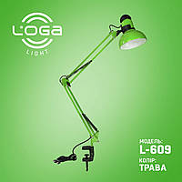 "Настольная лампа на струбцине ""Трава"".Украина (ТМ LOGA ® Light)"