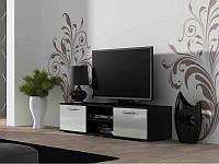 ТВ тумба Soho S-3 180 (черный/белый) (CAMA)