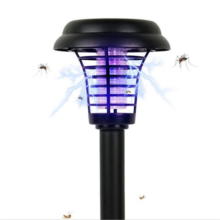 Светильник для уничтожения насекомых, столбик светильник на солнечной батарее с выключателем LM3408 Lemanso
