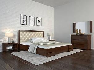Кровать Arbordrev Регина Люкс ромбы (Бук), фото 2