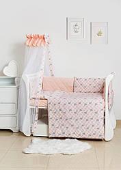 Детская постель Twins Premium Glamour TG-08G Polka dots 8 эл