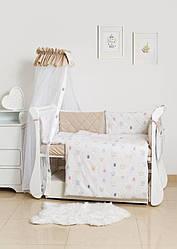 Детская постель Twins Premium Glamour TG-08RB Royal pink 8 эл