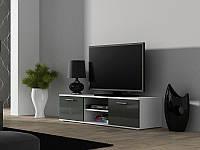 ТВ тумба Soho S-3 180 (білий/сірий) (CAMA)