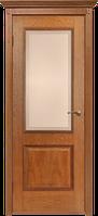 Межкомнатные Двери Белоруссии Гранд со стеклом Версаль (Орех) ПО