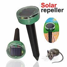 Столбик газонный для отпугивания кротов, мышей и грызунов на солнечной батарее с выключателем LM3404 Lemanso, фото 2