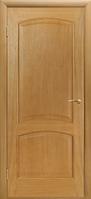 Межкомнатные Шпонированные двери Двери Белоруссии Капри 3 ПГ (Светлый Дуб)