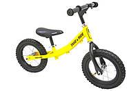 Детский велобег Take&Ride на резиновых надувных колесах RB-40 Classic желто-черный