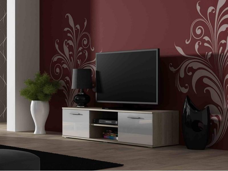 ТВ тумба Soho S-3 180  (дуб сонома/белый) (CAMA)