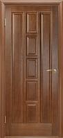 Межкомнатные Шпонированные двери Двери Белоруссии Квадро (Каштан ПГ)
