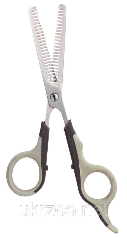 Ножницы филировочные двойн. 18см