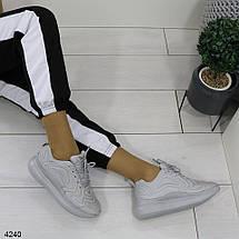 Высокие тканевые кроссовки, фото 2