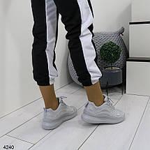 Высокие тканевые кроссовки, фото 3