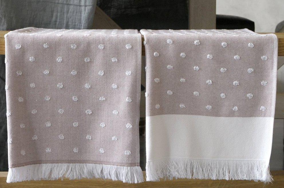Полотенца кухонные 50х75 набор из 2 шт PAVIA Pea Beige
