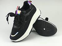 Кросівки жіночі чорні Artin