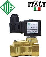 """Электромагнитный клапан для воды 1/2"""", DN 15, НЗ, NBR, -10+90°С, ODE 21WA4KOB130 (Италия), нормально закрытый"""
