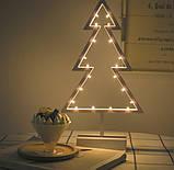 Декоратииний ночник светильник ночник Елка, фото 2